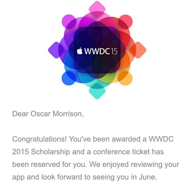WWDC Scholarship Image